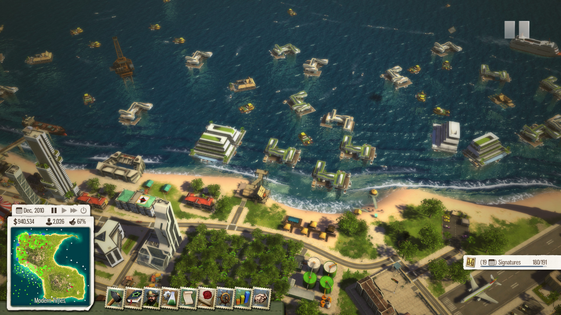 Скриншот Tropico 5: Complete Collection (2014) PC
