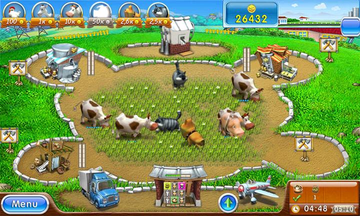 Скриншот Веселая Ферма: Печем пиццу [v.1.0.] (2012) РС