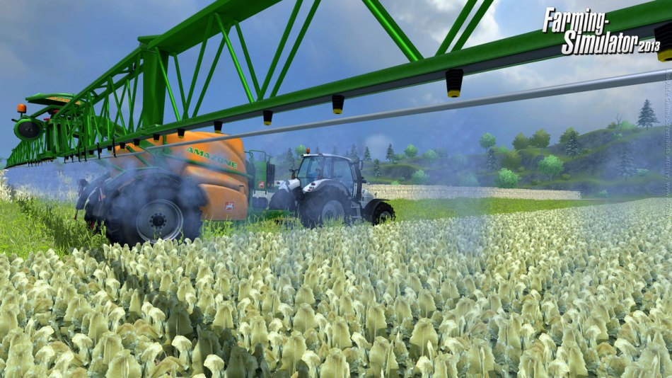 Скриншот Farming Simulator 2013 [v.1.0.] (2012) PC