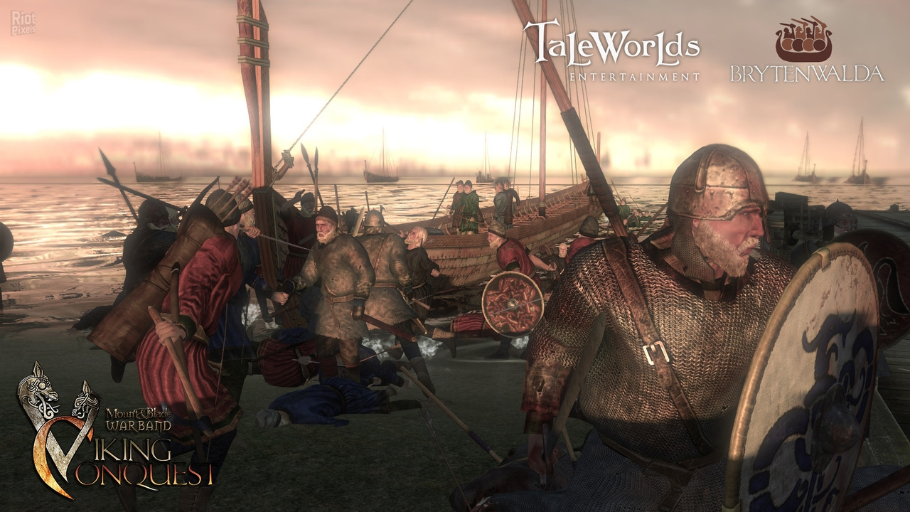 Скриншот Mount and Blade: Warband - Viking Conquest [v.1.0] (2014) PC