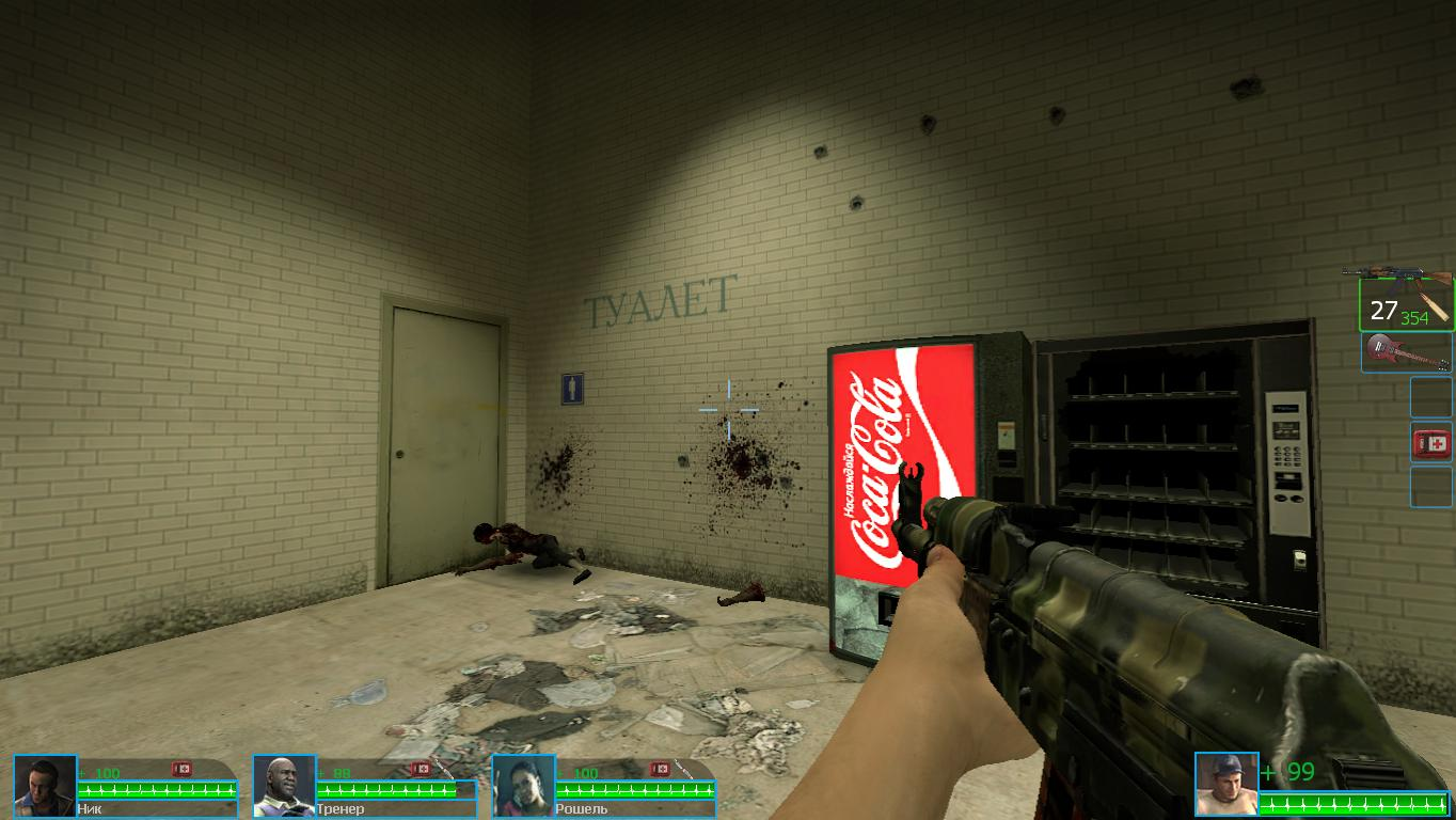 Скриншот Left 4 Dead 2 [Graphic Modes for M60] [v.1.7.2] (2014) PC
