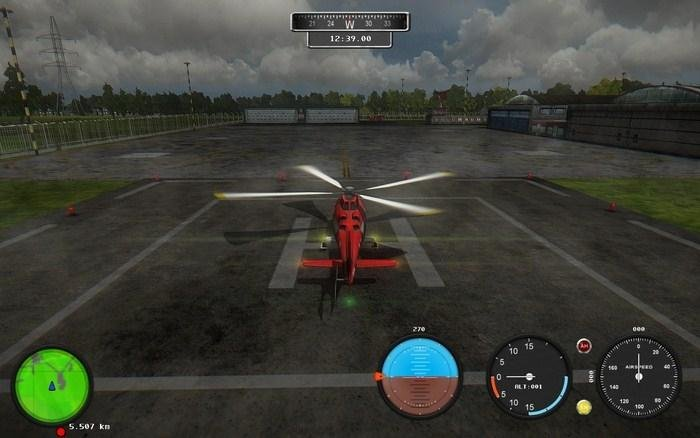Скриншот Helicopter Simulator: Search and Rescue [v.1.0] (2013) РС