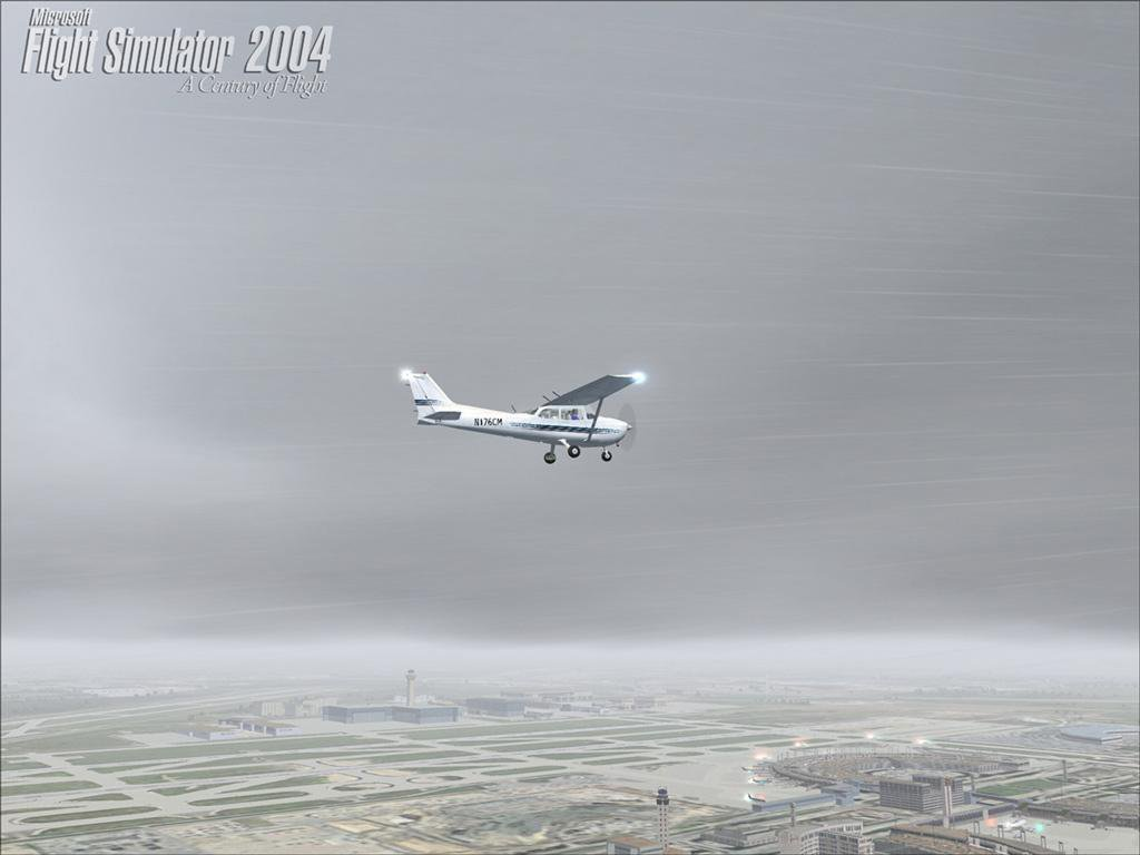 Скриншот Microsoft Flight Simulator 2004: A Century of Flight [v.1.0] (2004) РС