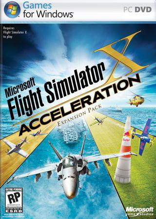 Microsoft Flight Simulator X: Acceleration [v.1.0] (2007) РС