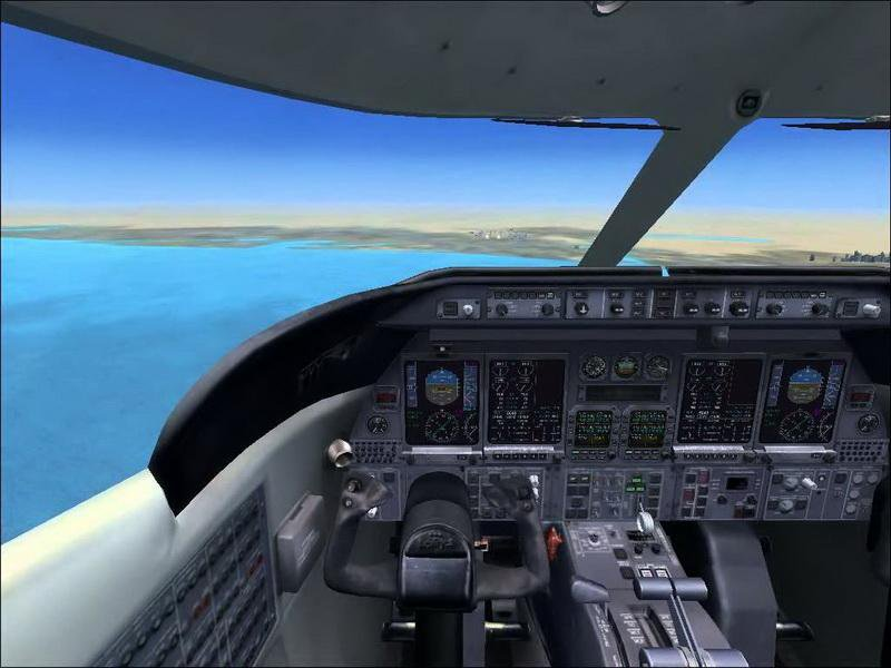 Скриншот Microsoft Flight Simulator X: Acceleration [v.1.0] (2007) РС