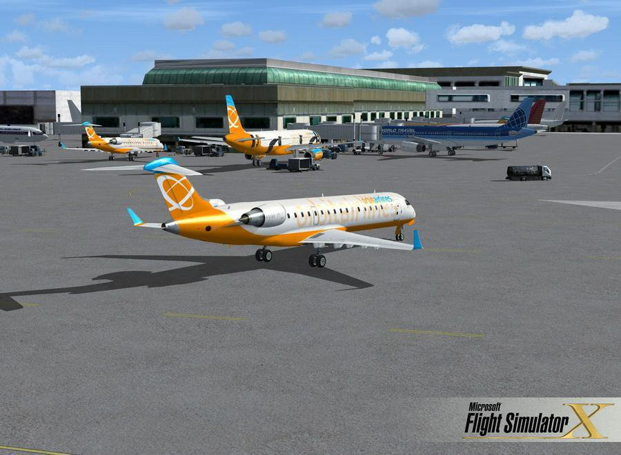 Скриншот Microsoft Flight Simulator X [v.1.0] (2007) РС