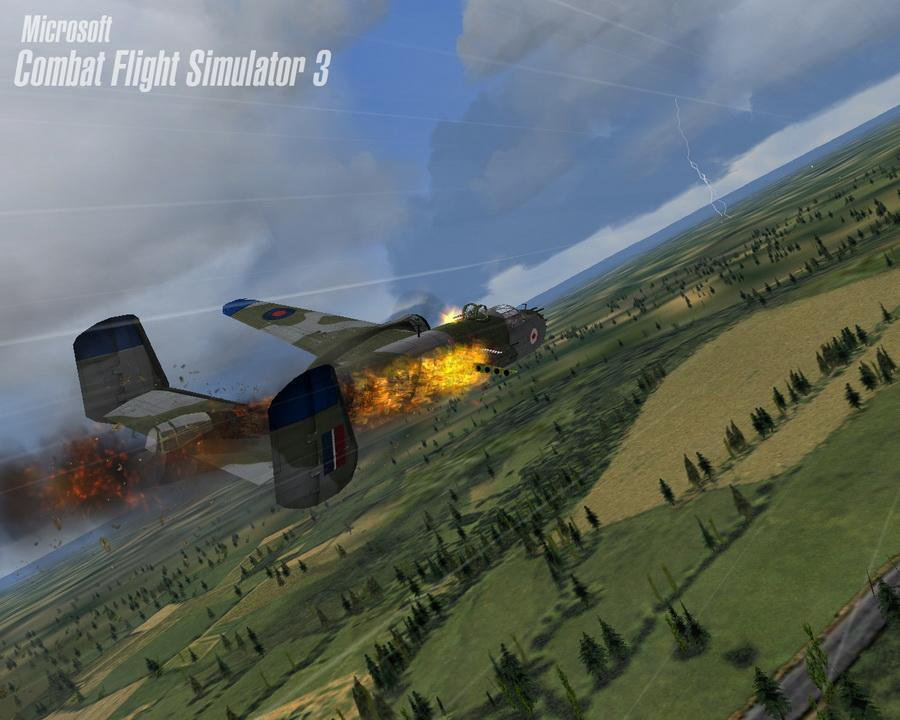 Скриншот Microsoft Combat Flight Simulator 3: FirePower [v.1.0] (2002) РС