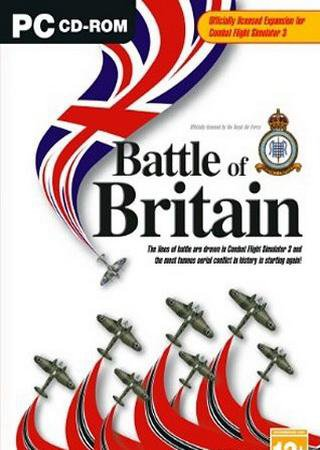 Microsoft Combat Flight Simulator 3: Batle for Britain [v.1.0] (2003) РС
