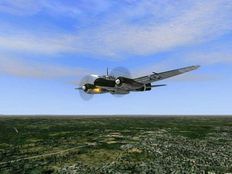 Скриншот Microsoft Combat Flight Simulator 3: Batle for Britain [v.1.0] (2003) РС