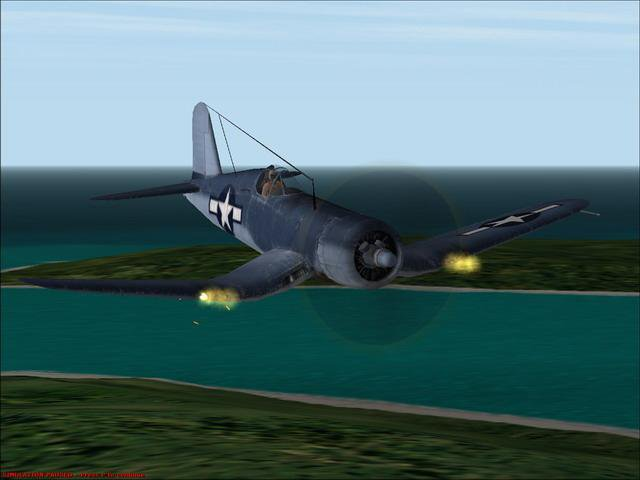 Скриншот Microsoft Combat Flight Simulator 2: WW 2 Pacific Theater [v.1.0] (2000) РС