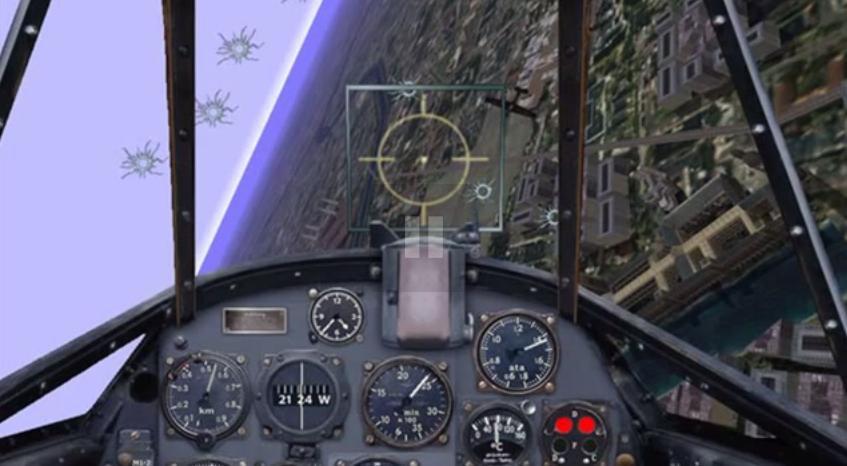 Скриншот Microsoft Combat Flight Simulator: WW 2 Europe Series [v.1.0] (1998) РС