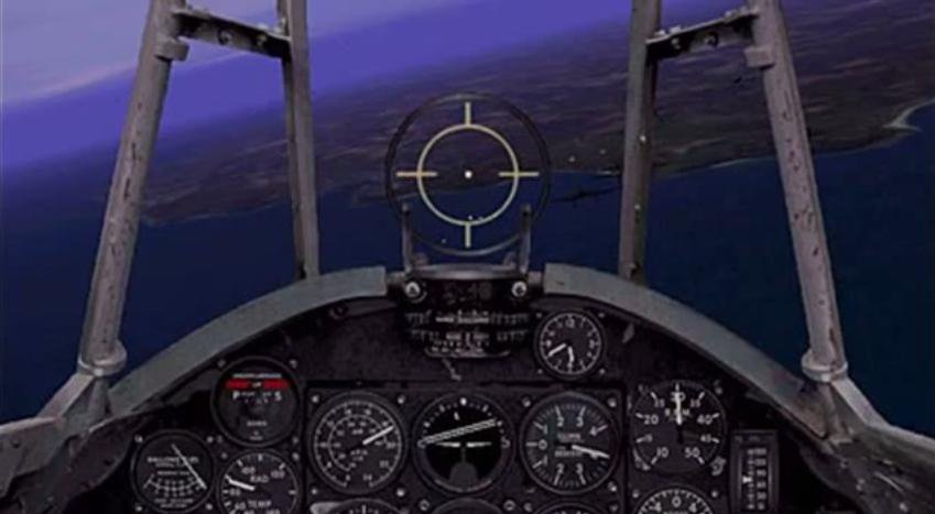 Скриншот Microsoft Combat Flight Simulator: WW 2 Europe Series [v.1.0] (1998) РС