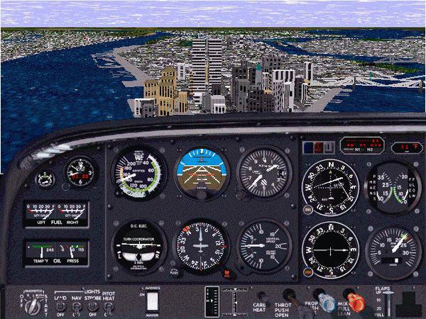 Скриншот Microsoft Flight Simulator 98 [v.1.0] (1997) РС