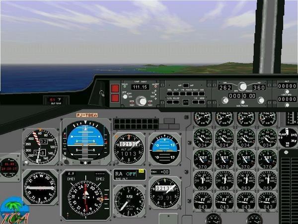 Скриншот Microsoft Flight Simulator 98 [v.1.0] (1997) РС