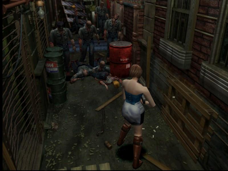 Скриншот Resident Evil 3: Nemesis (2005) PC