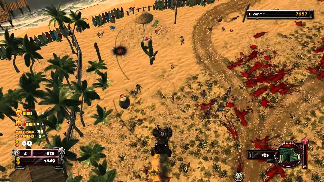 Скриншот Zombie Driver The Slaughter: Кровь на колесах + Ночная резня (2010) PC