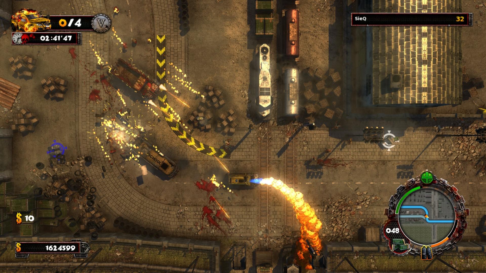 Скриншот Zombie Driver (2010) PC
