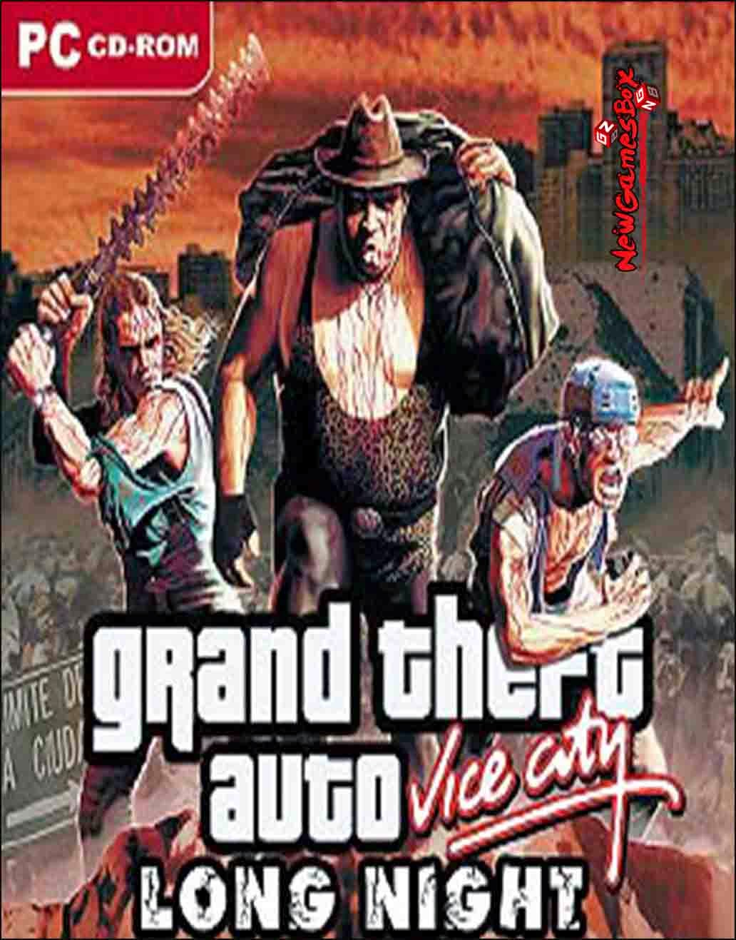 GTA: Vice City Long Night Zombie City (2005) PC
