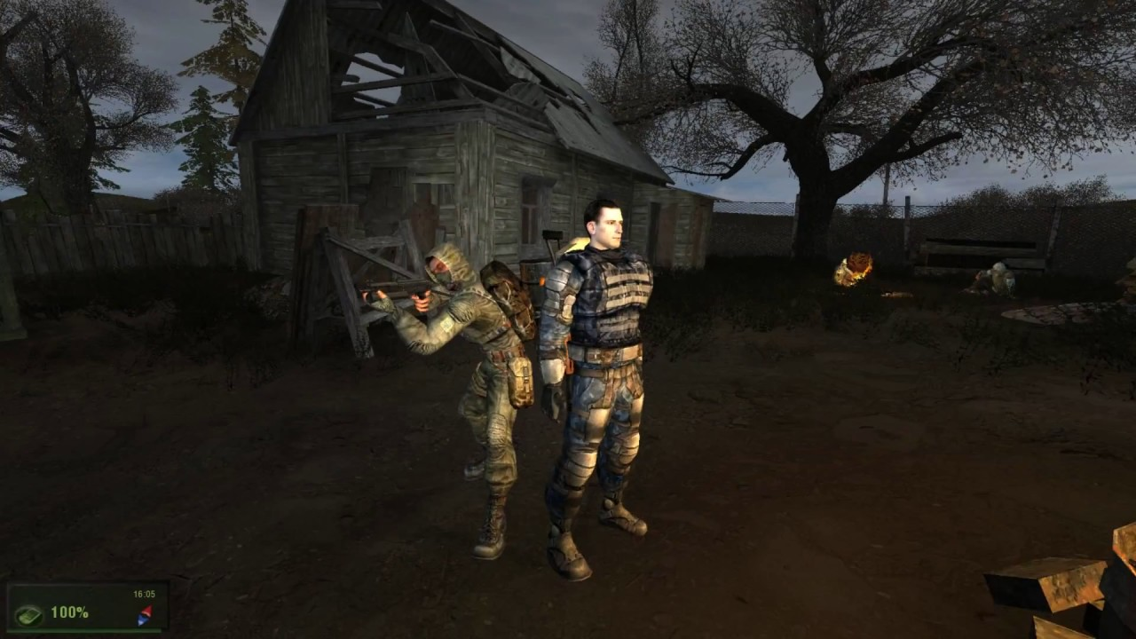 Скриншот S.T.A.L.K.E.R.: Shadow of Chernobyl - Вариант Омега (2014) PC