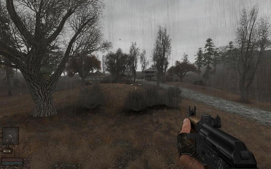 Скриншот S.T.A.L.K.E.R.: Shadow of Chernobyl - Dead Autumn [v.1.0004] (2012) PC