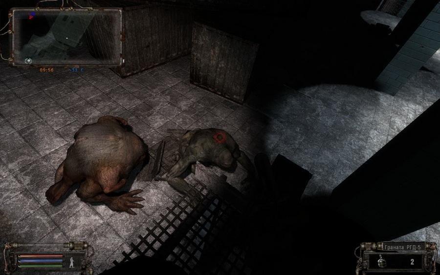 Скриншот S.T.A.L.K.E.R.: Тень Чернобыля - Nature Winter - Квантовый скачок [v.2.0] (2012) PC