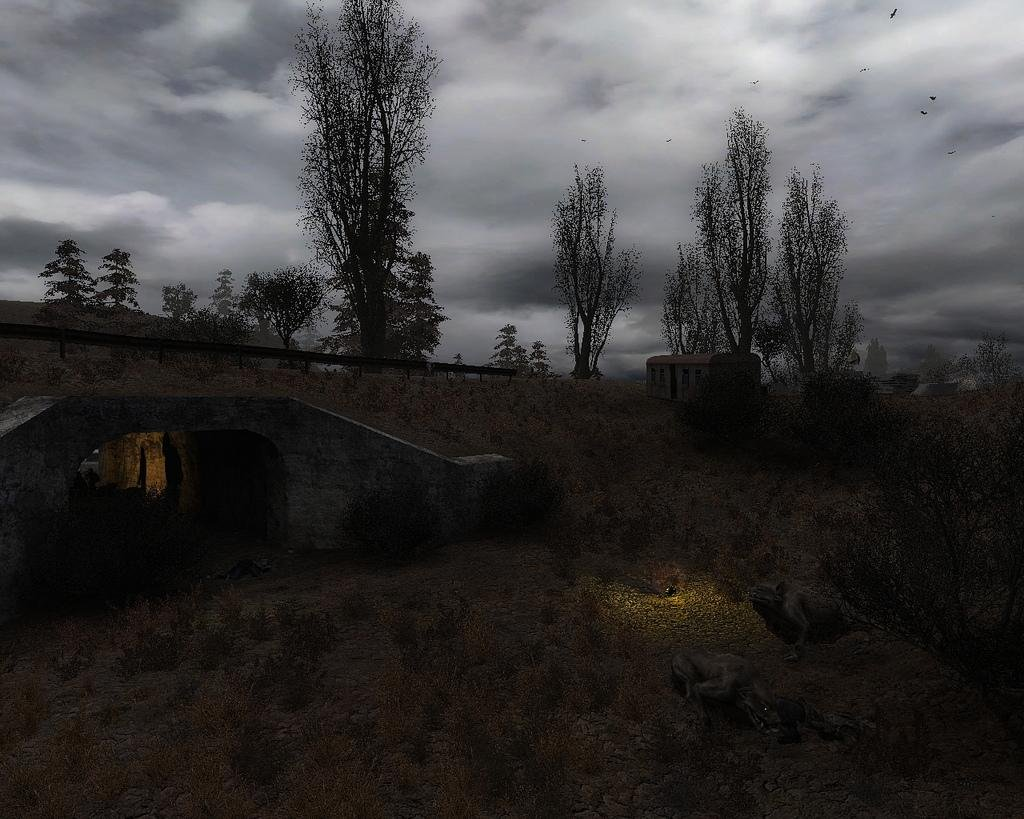 Скриншот S.T.A.L.K.E.R.: Shadow of Chernobyl - O.F.F.L.I.F.E. [v.1.0004] (2012) PC