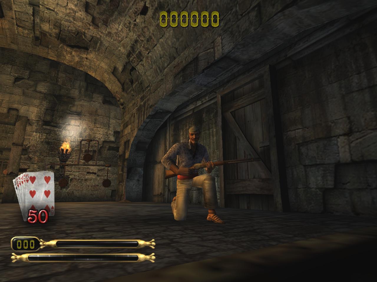 Скриншот Dead Man's Hand (2004) PC