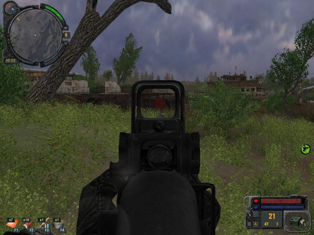 Скриншот S.T.A.L.K.E.R.: Зов Припяти - Medal of Honor [v.1.1] (2009) PC