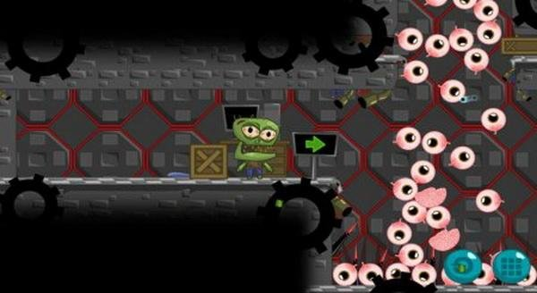 Скриншот The Zombie Want To Eat (2013) PC