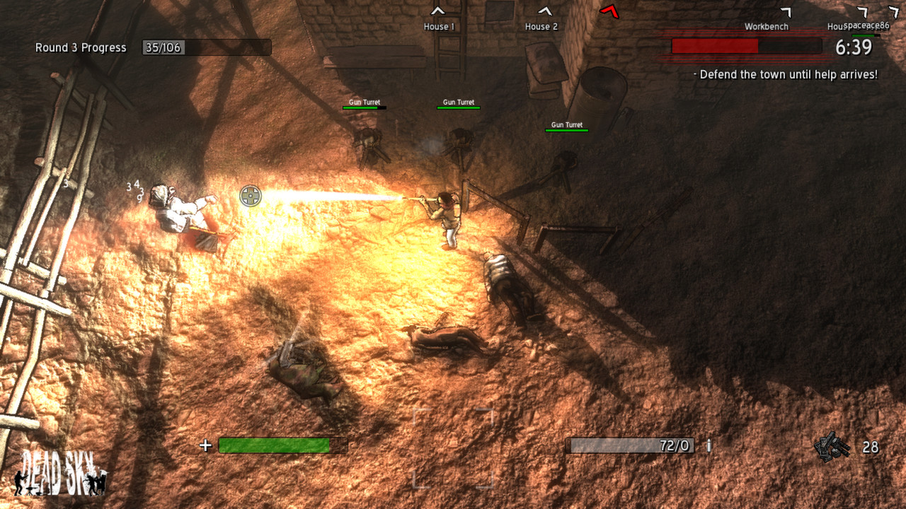 Скриншот Dead Sky (2013) PC