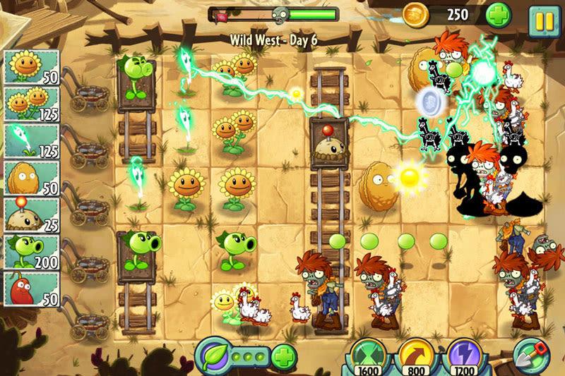 Скриншот Plants vs Zombies 2 (2013) PC