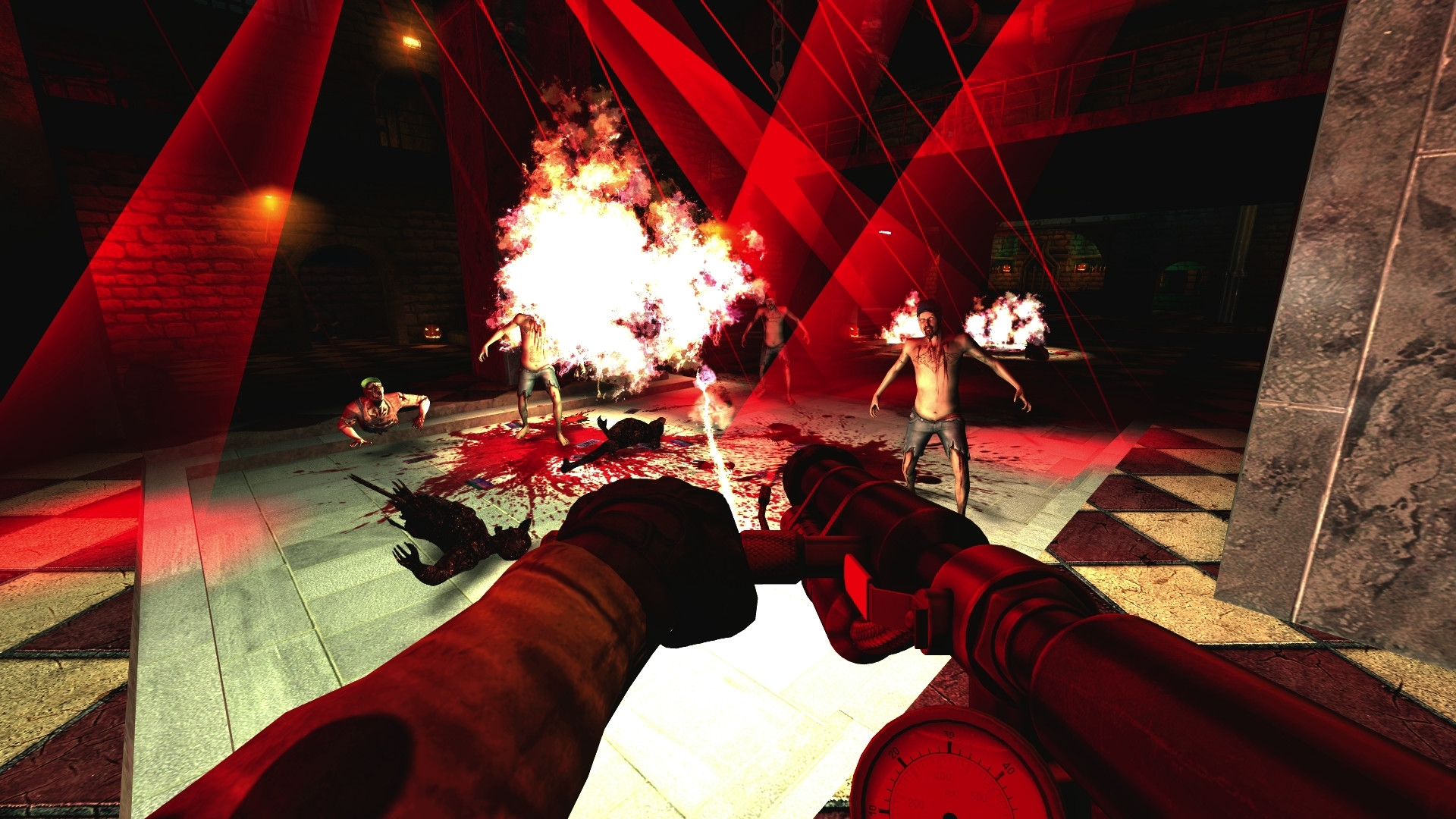 Скриншот Killing Floor [v.1064] (2009) PC