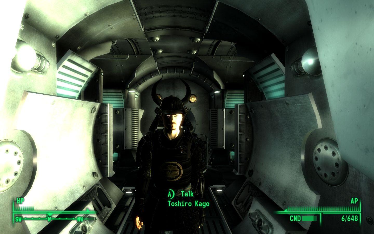 Скриншот Fallout 3: Mothership Zeta (2010) РС