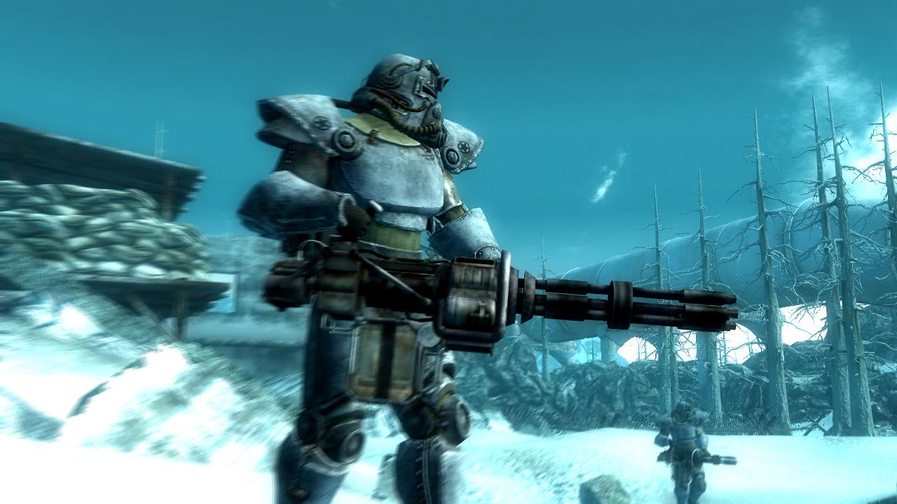 Скриншот Fallout 3: Operation Anchorage (2009) РС