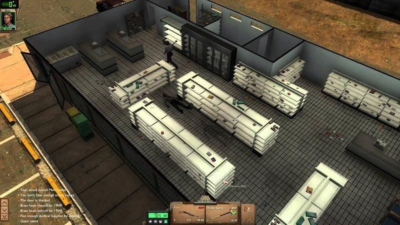Скриншот Dead State: The First Seven Days (2014) PC