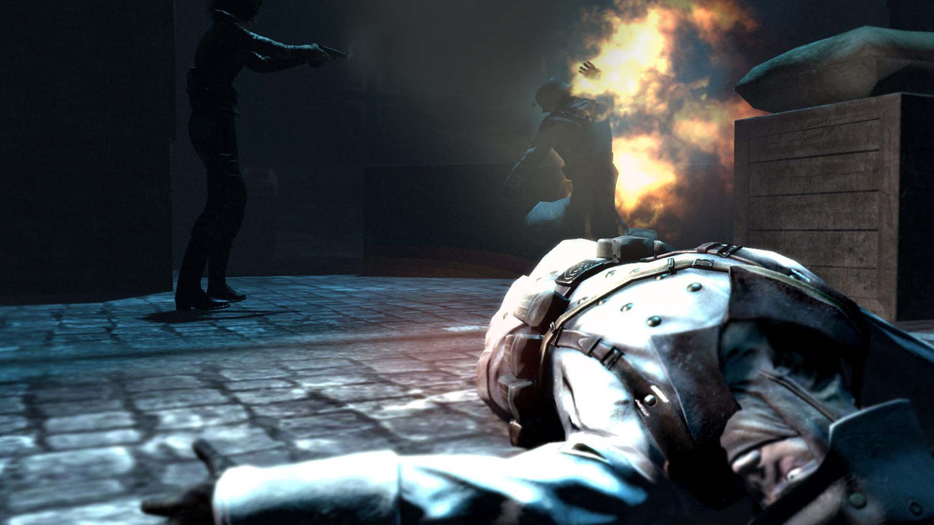 Скриншот Velvet Assassin (2009) PC
