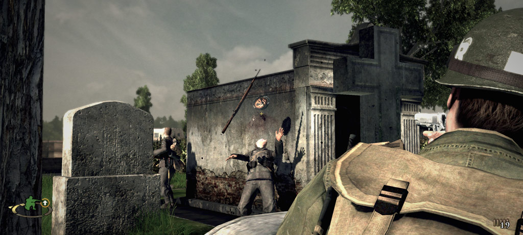 Скриншот Brothers in Arms: Hell's Highway (2008) PC