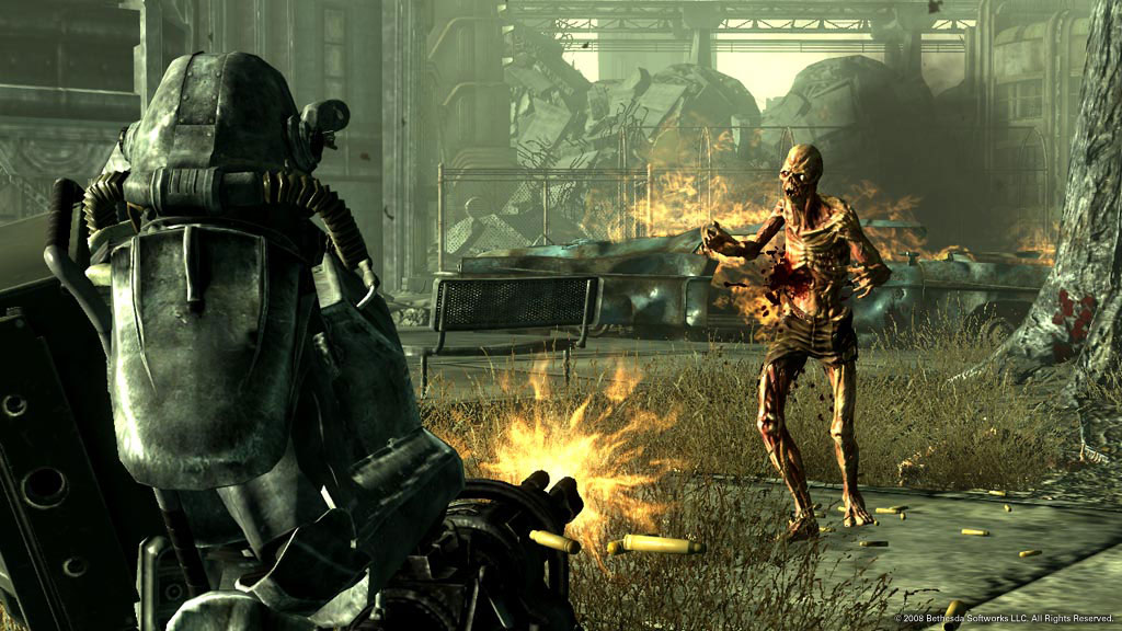 Скриншот Fallout 3: Game of the Year Edition (2009) PC