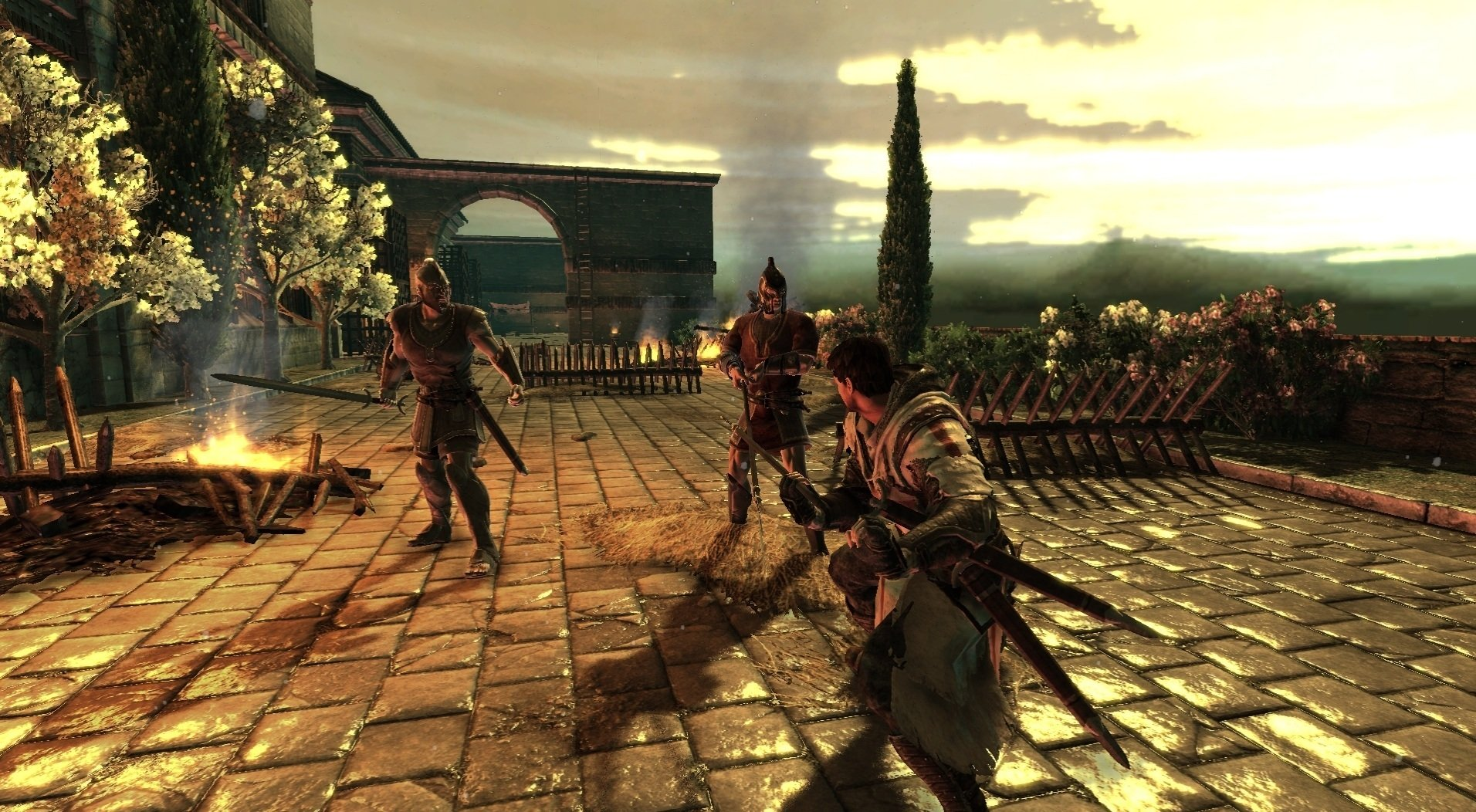 Скриншот The Cursed Crusade (2011) PC