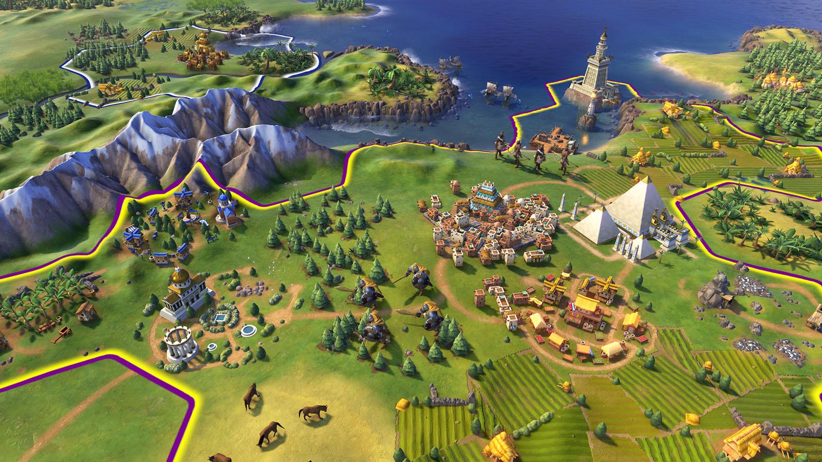 Скриншот Sid Meier's Civilization VI: Digital Deluxe (2016) PC