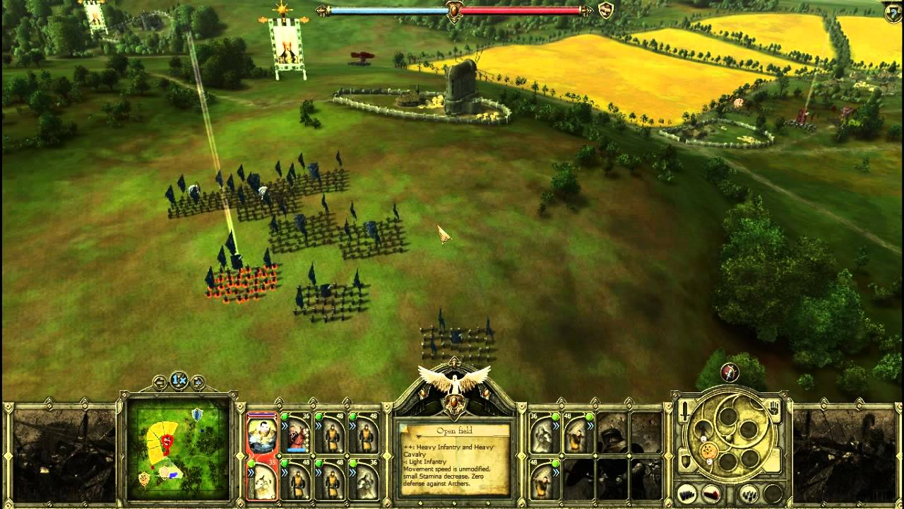 Скриншот King Arthur: The Role-playing Wargame [v.1.05] (2009) PC
