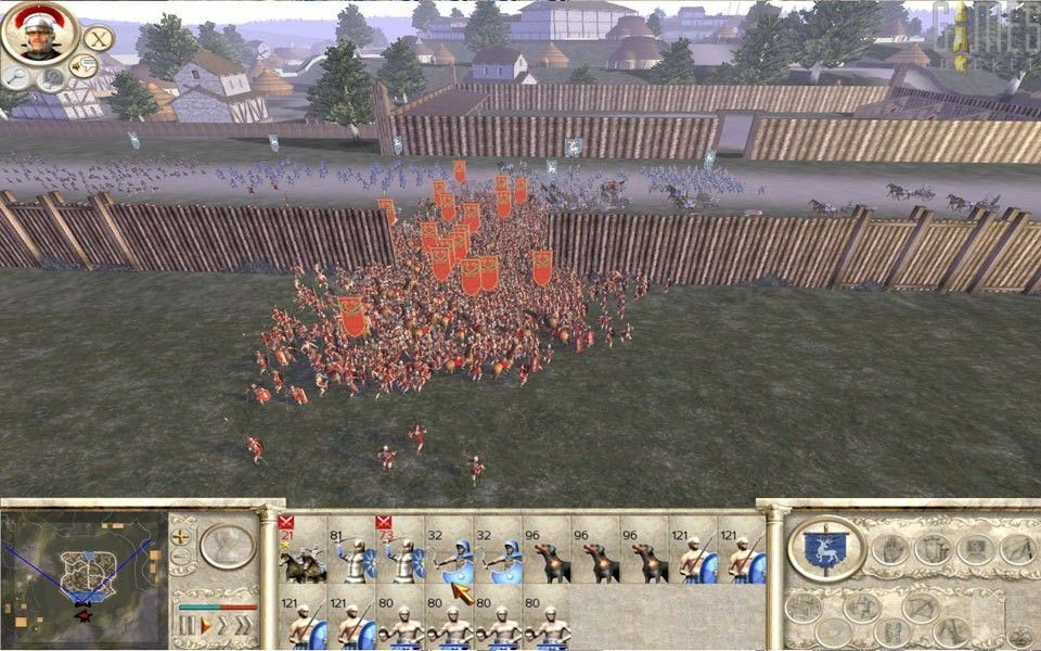 Скриншот Rome: Total War - Gold Edition (2006) PC
