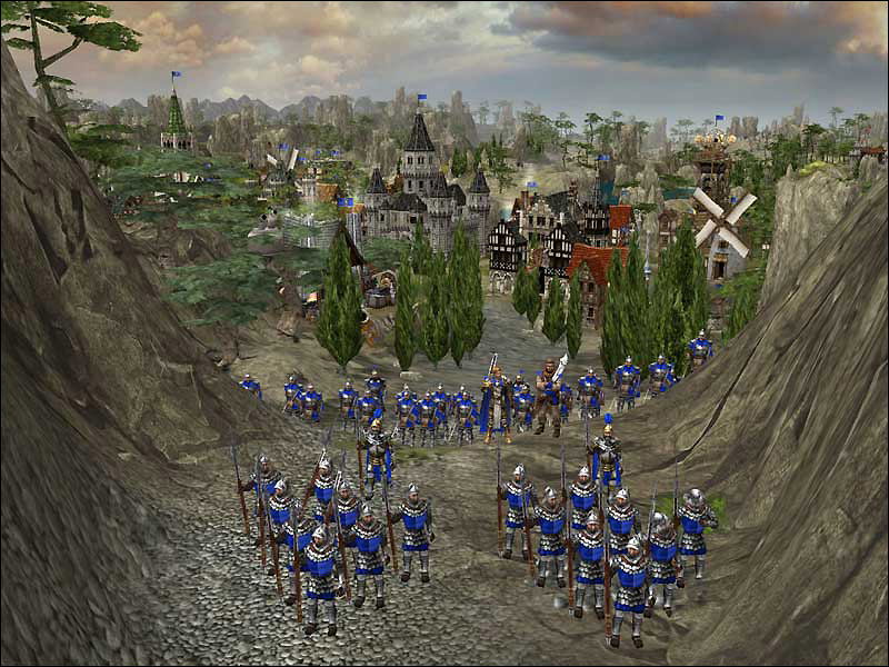 Скриншот The Settlers: Heritage of Kings (2005) PC