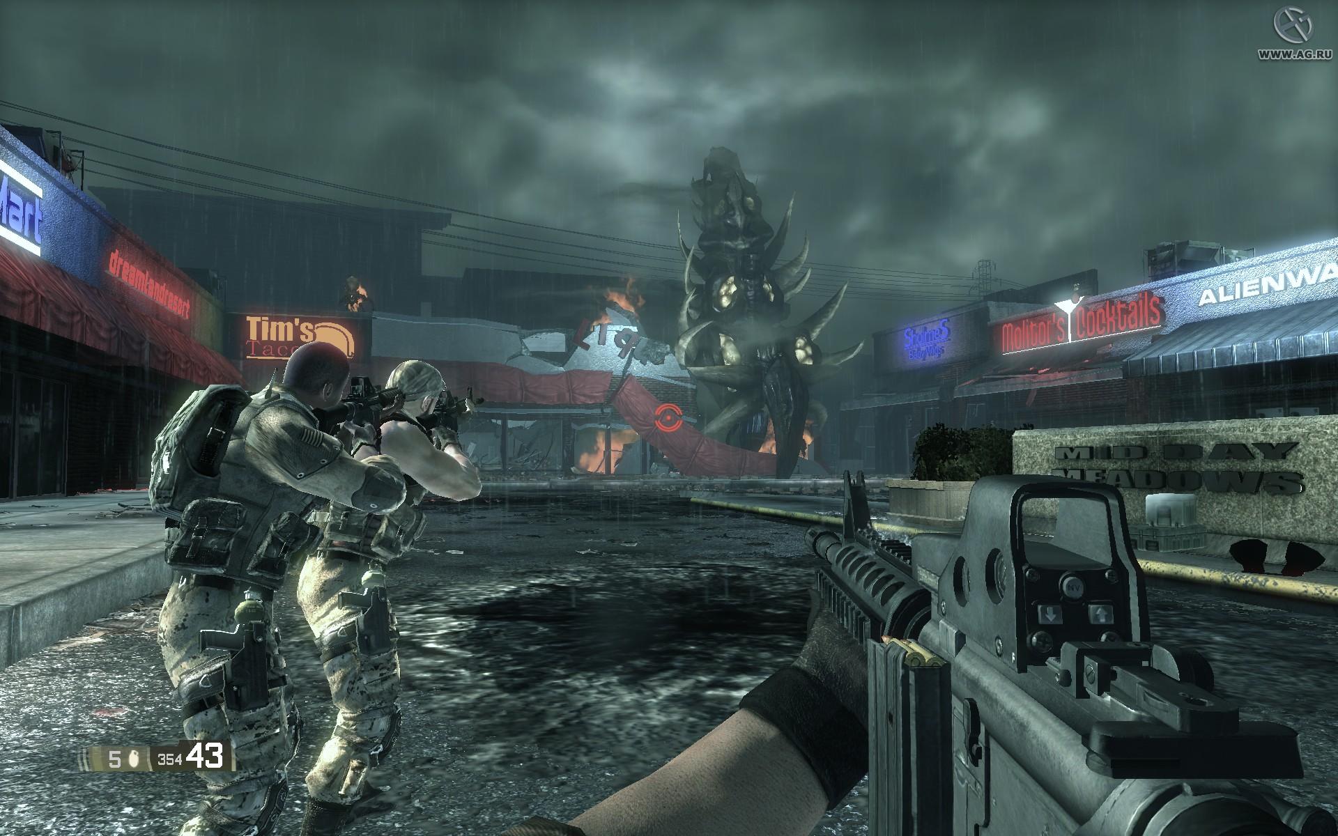 Скриншот BlackSite Area 51 (2007) PC