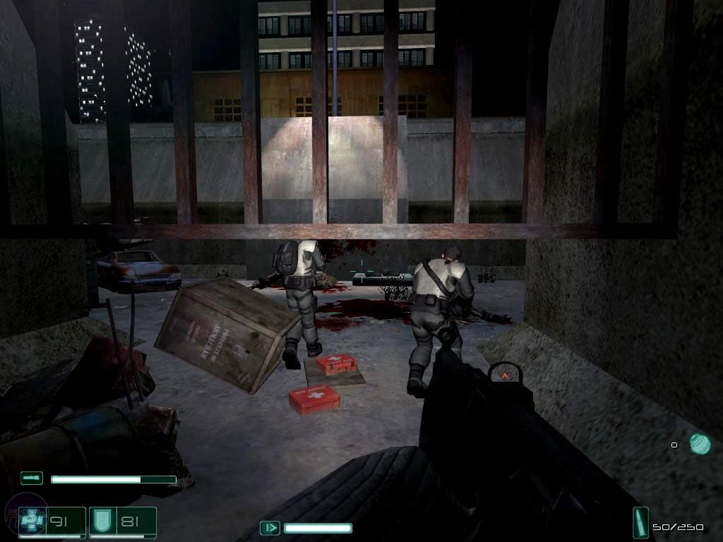 Скриншот F.E.A.R. Perseus Mandate (2007) PC