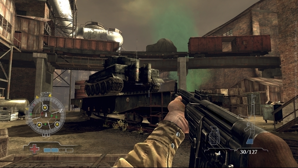 Скриншот Medal of Honor: Airborne (2007) PC