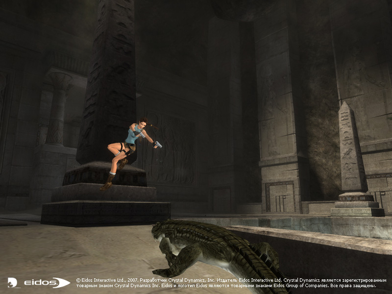 Скриншот Tomb Raider: Anniversary (2007) PC