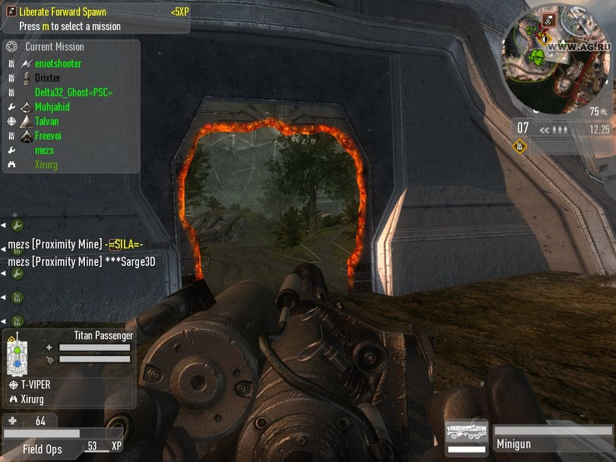 Скриншот Enemy Territory: Quake Wars (2007) PC