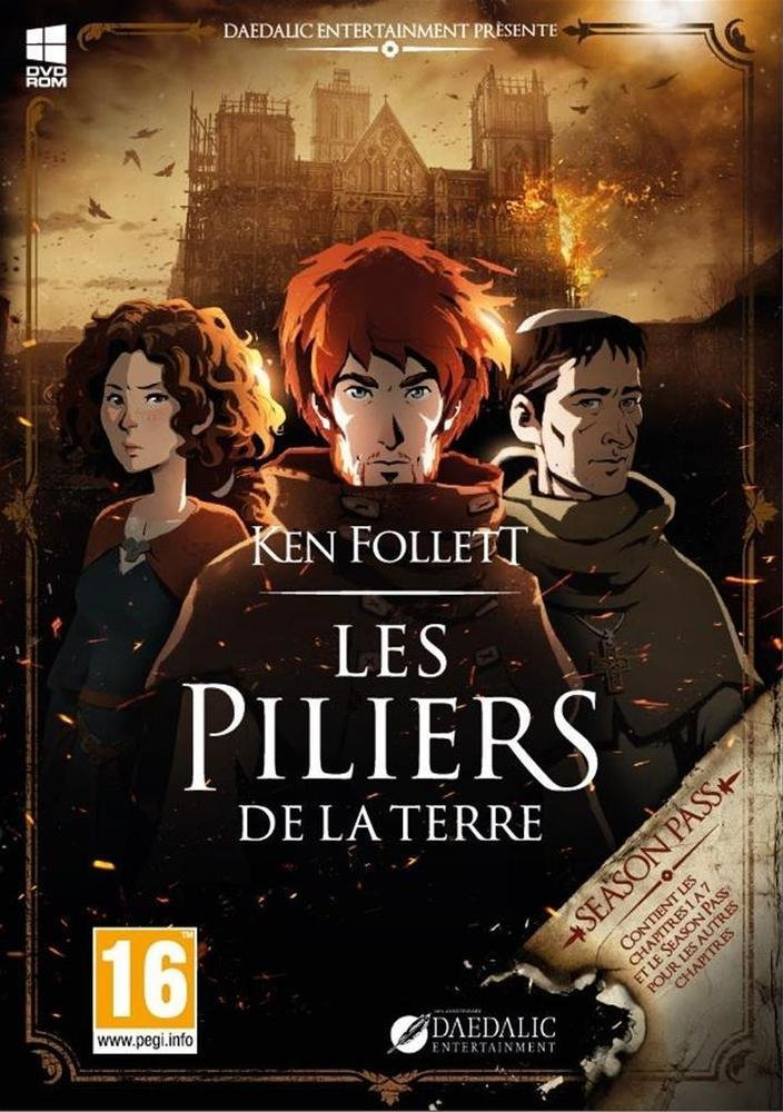 Ken Follett's The Pillars of the Earth: Book 1-2 (2017) PC