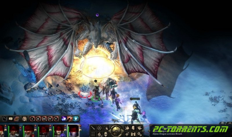Скриншот Pillars of Eternity: The White March (2015) PC